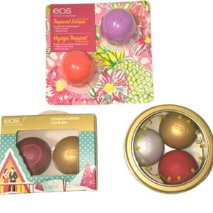EOS Limited Edition Lip Balms | 7 Pieces | NEW